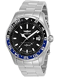Men's 'Pro Diver' Quartz Stainless Steel Casual Watch, Color Silver-Toned (Model: 25821)