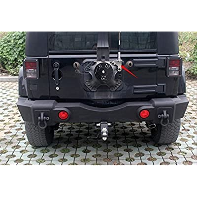 Jeep Spare Tire CB Antenna Mount for Jeep Wrangler Unlimited Rubicon Sahara JK 2/4 Door 2007-2020: Car Electronics