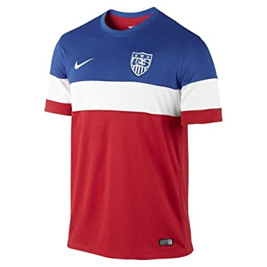 Amazon.com  Nike Youth USA Away Soccer Jersey 2014-2015 (X-Small ... a6d9443e8