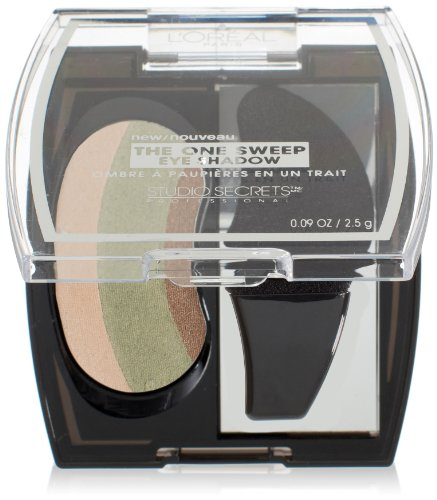 L'Oreal Paris Studio Secrets Professional The One Sweep Eye Shadow, Playful for Green Eyes, 0.09 Ounces ()
