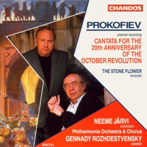 Prokofiev: Cantata For the 20th Anniversary of the October Revolution by Chandos