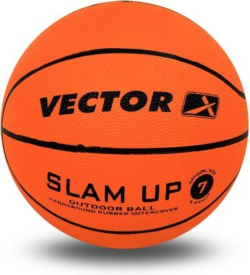 Vector X Slam Up Basketball   Size: 7 Orange