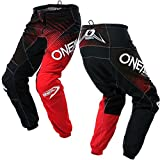 O'Neal Mens Element Racewear Pant (Black/Red, Size 40)