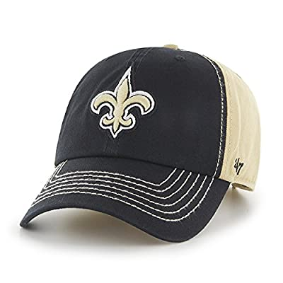 New Orleans Saints Slot Back 47 Clean Up Adjustable Buckle Cap/Hat from 47 Brand