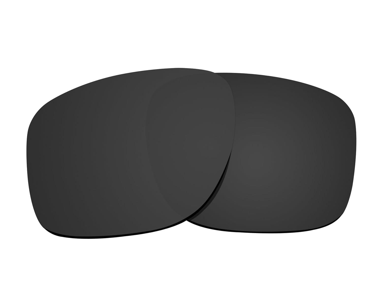 ブランド新しい1.5 MM littlebird4偏光交換レンズOakley Sliver Sunglasses – 複数のオプション B078K2HCXL ダークブラック