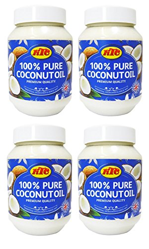 KTC Coconut Oil 500 ml (Pack of 4)