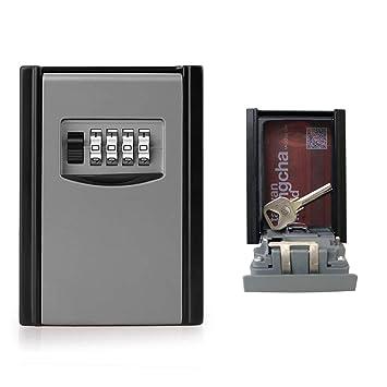 Boite à Clé Sécurisée Key Safe Rangement Sécurisé Avec Code Numérique à 4  Chiffres, ...