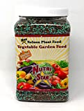 Nelson All Vegetable Garden Plant Food Granular Fertilizer Multi Purpose High Calcium Phosphorus Micronutrients In Ground Containers Greenhouses NutriStar 12-14-11 (4 LB)