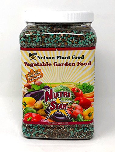 Nelson All Vegetable Garden Plant Food Granular Fertilizer Multi Purpose  High Calcium Phosphorus Micronutrients In Ground Containers Greenhouses