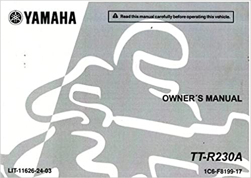 yamaha ttr 230 service manual