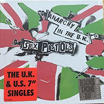 40e1e717808d5b The Sex Pistols - Anarchy In The UK  The UK   US Singles  7