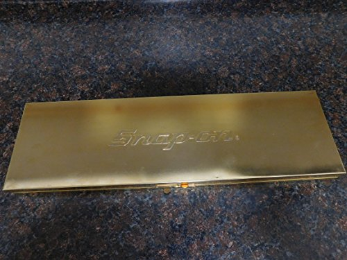 """Snap-On 18 Piece SAE Gold Finish 3/8"""" Drive Commemorative General Service Set"""