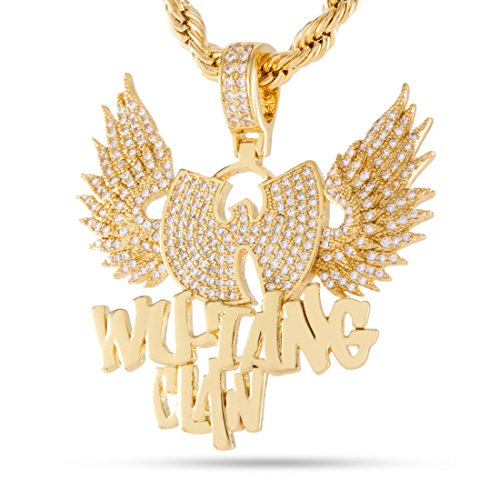 Wu-Tang Clan x King Ice – The Protect Ya Neck Necklace (14K Gold Plated) by King Ice