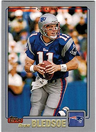 quality design b6cef 960ef Amazon.com: 2001 Topps Super Bowl Champion New England ...