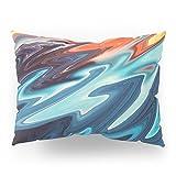 Society6 SOLAR WAVE Pillow Sham Standard (20'' x 26'') Set of 2