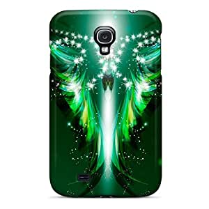 [ute2244WVFs]premium Phone Case For Galaxy S4/ Angel Of Light Tpu Case Cover