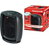 Energy Smart Wide Range Oscillation Cool Touch 1500 Watts Black Heater