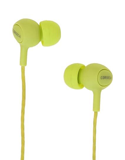 7e5142a049e Corseca Green Earbud Headphone -DMHF0027: Amazon.in: Electronics