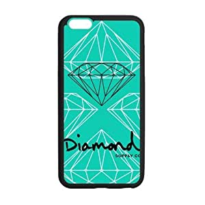 HipsterOne Custom Supply Diamond Co Back Cover Case for iphone 6 4.7 ( ; Laser Technology)