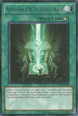 Yu-Gi-Oh! - Advanced Ritual Art (TU04-EN009) - Turbo Pack 4 - Promo Edition - -