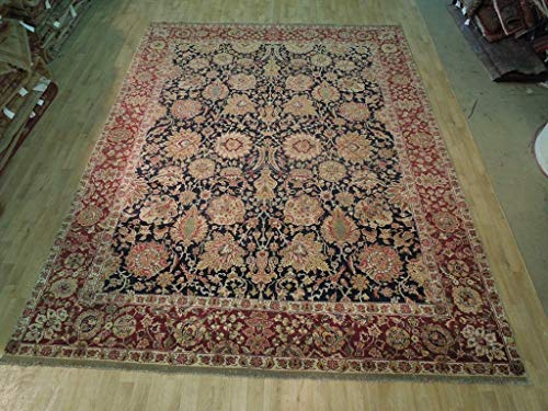 Weave NEW Hand Knotted 9' x 12' Jaipur Area Rug PERSIAN MAHAL DECOR