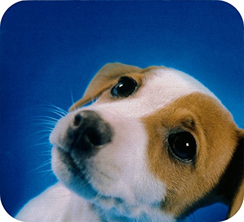 Deluxe Antimicrobial Mouse Mat (Deluxe Mouse Mat- Beagle Puppy)