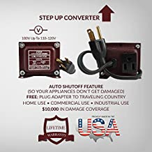 ACUPWR AJSU-1500 1500-Watt USA/Canada to Mexico 110-120 Volts to 127-130 Volts Step Up Voltage Transformer/Converter Ideal for GE Microwave, Friedrich ACs, Miele, Braun coffee maker