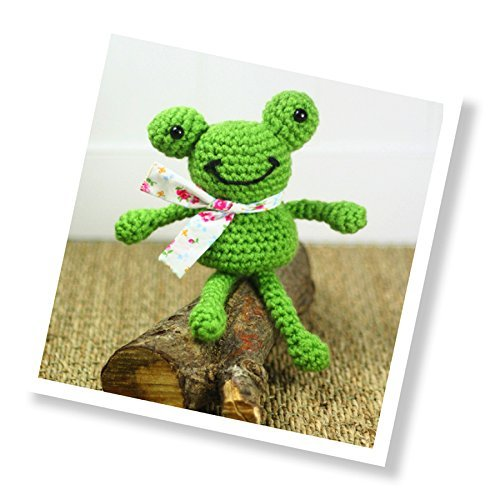 Craft Kit - Crochet - Frankie Frog by The Crafty Kit Co by The Crafty Kit Company
