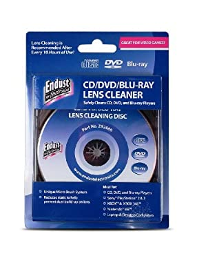 Endust For Electronics Cddvdblu Raygame Console Lens Cleaner 262000 by Norazza