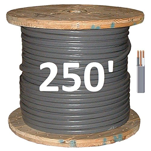 6/2 UF (Underground Feeder - Direct Earth Burial) Cable by Romex