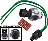 APDTY 133830 Engine Oil Pressure Sensor Crush Sleeve Gasket & Wiring Harness Pigtail (Replaces D1846A, 12616646 12573107 12569323 12562230 12614969; Typically Solves PO520, PO521, PO522, PO523, PO524)