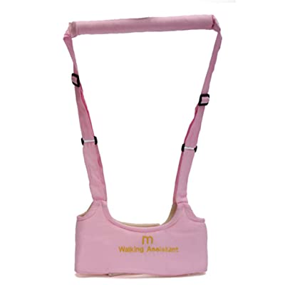 Baby Infant Walking Belt Kid Toddler Walking Learning Assistant Harness Strap (Pink) : Baby