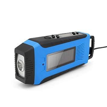 Radio De Manivela con Energía Solar, Radio Meteorológica Am ...