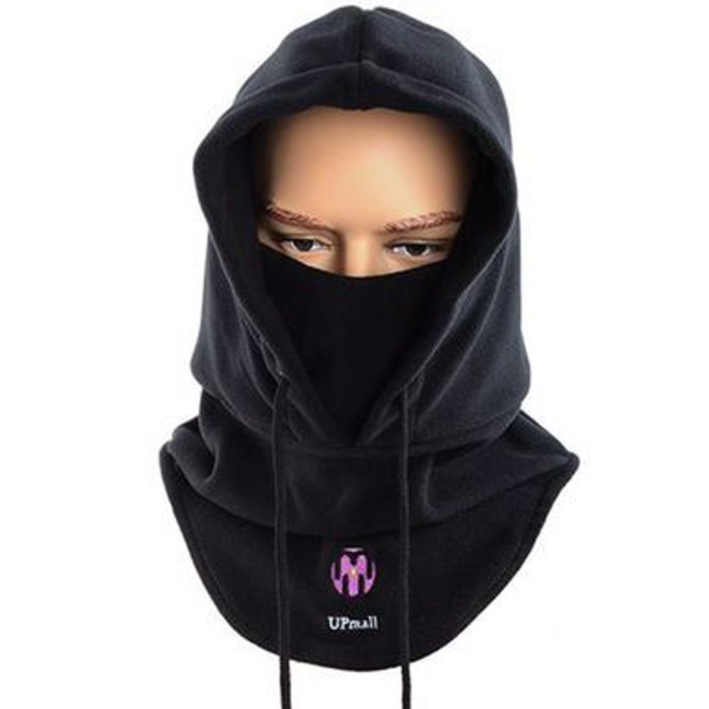 71b1a0e167cc Tactique Masque à masque facial à balaclava Casquette à capuchon résistant  au vent (Noir)  Amazon.fr  Sports et Loisirs