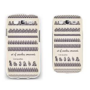 New Hard Plastic Customized Hybrid Samsung Galaxy S3 I9300 Personalized Back Case Cover Protector (retro quotes BY501)