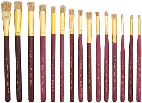 Cedar Canyon Textiles Shiva Stencil Brush Set-4//Pkg.