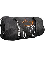 Meister CLASSIC Chain Mesh Duffel Gym Bag - Black