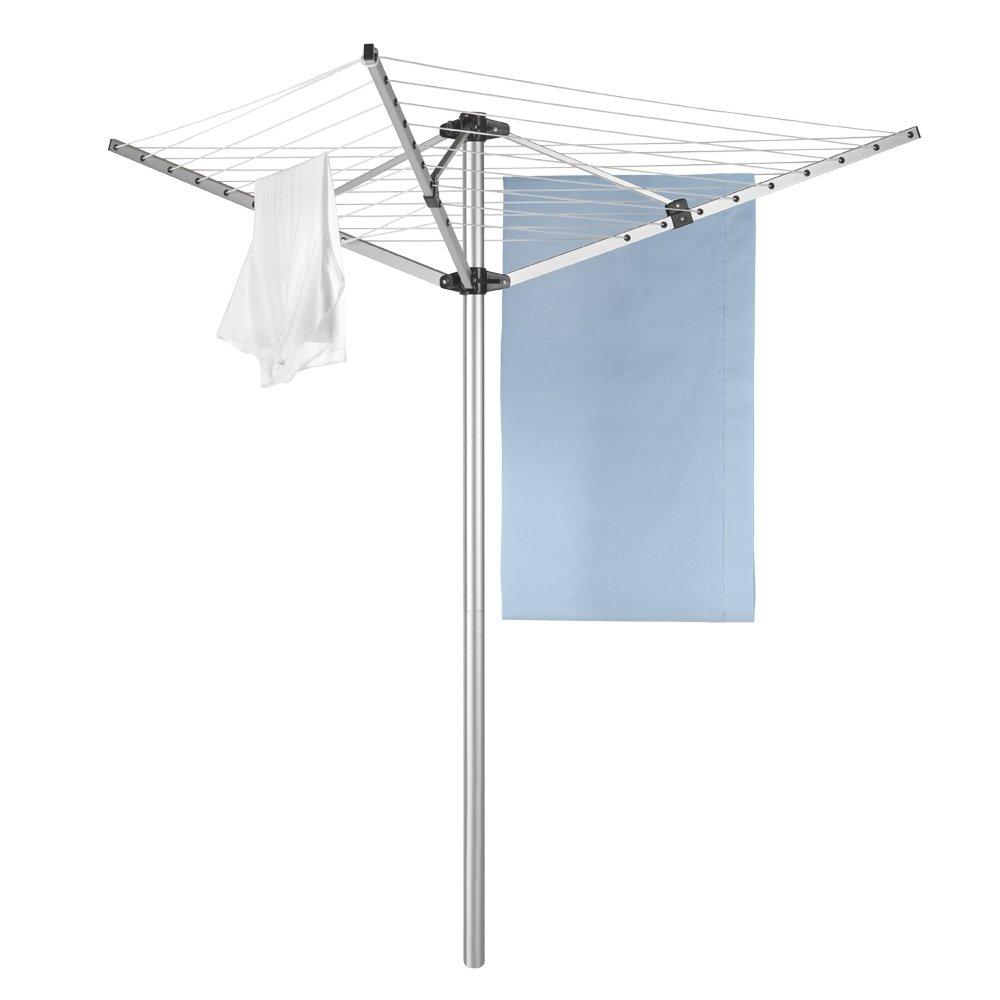 Metaltex 30 m 3-Arm Rotary Airer Washing Line Aluminium 40.75.72