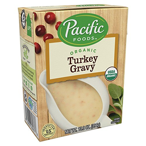 Pacific Foods Organic Vegan Mushroom Gravy, 13.9 Ounce (Pack of 12)