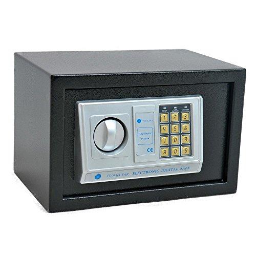 Homegear Medium Electronic Safe Digital Gun Money Passport Hidden Wall Floor Cabinet Mounted