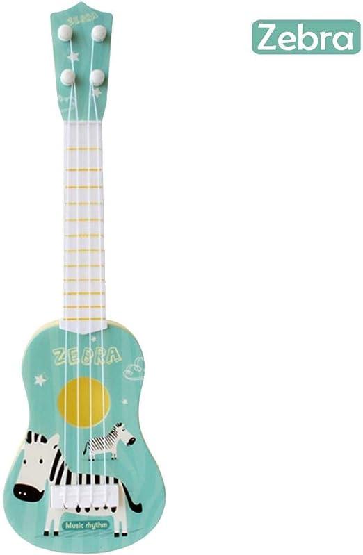 Mini Guitarra para Niños de Dibujos Animados Simulación ...