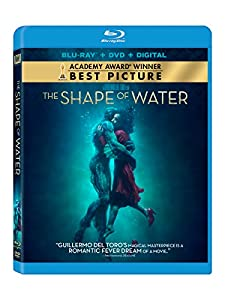 Cover Image for 'The Shape Of Water [Blu-ray + DVD + Digital]'