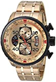 Image of Invicta Men's 17205 AVIATOR 18k Gold Ion-Plated Watch