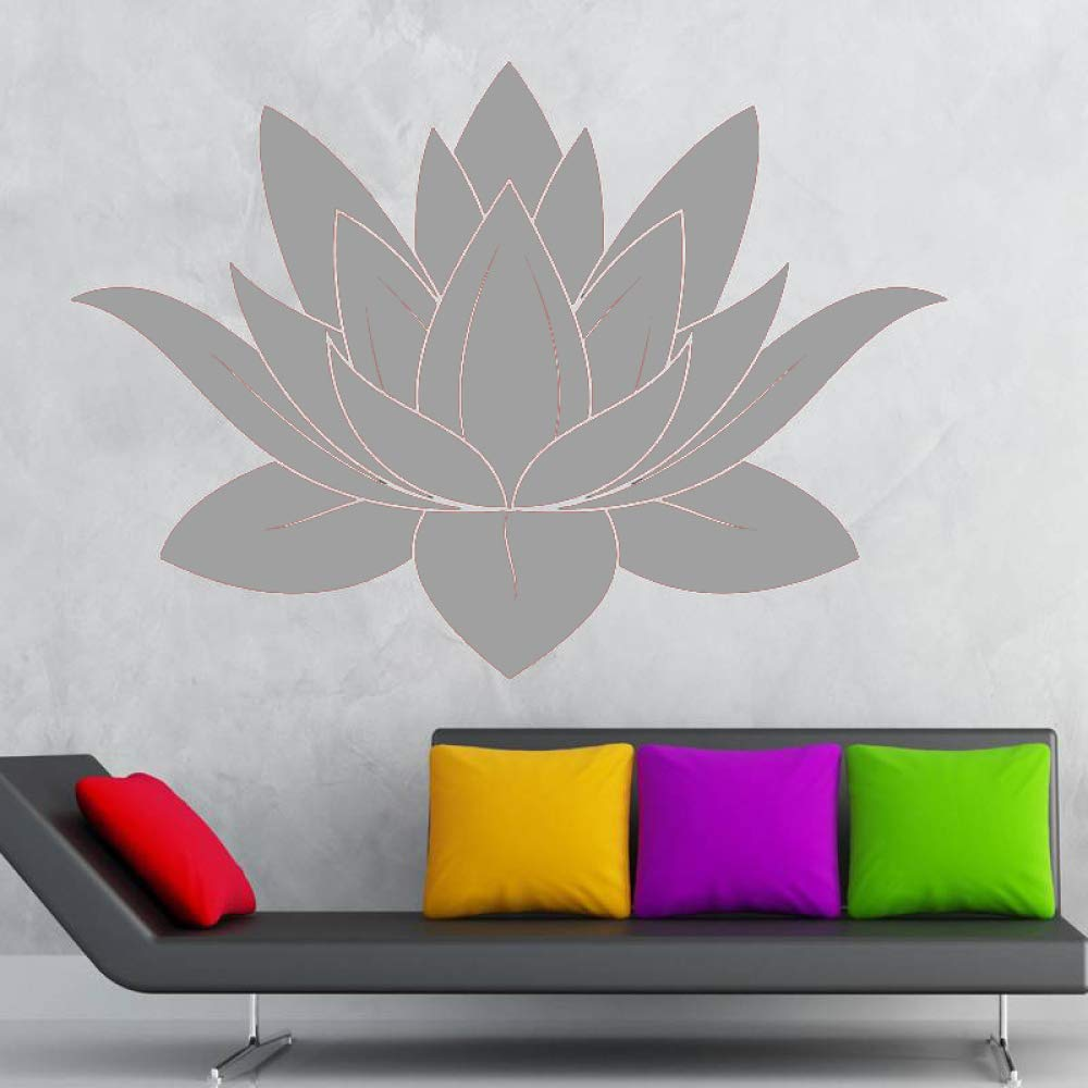 guijiumai Dctal Yoga Club Sticke Lotus Decal Posters Yug ...