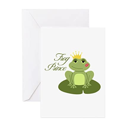 Amazon Com Cafepress The Frog Prince Greeting Cards Greeting