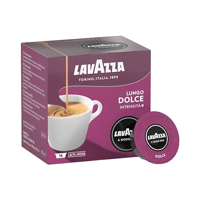 Amazon.com: Lavazza A Modo Mio caff? Crema Lungo Dolcemente ...