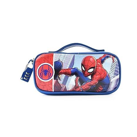 CHQYY Estuche para Lápices - Disney Spiderman Child Password ...