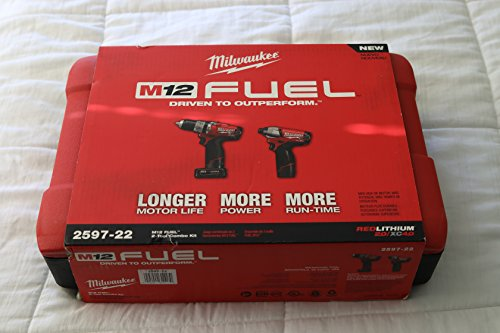 12v milwaukee fuel hammer drill - 1