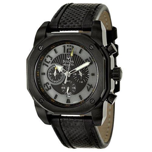 ブローバ Bulova Men's メンズ 男性用 98B151 Marine Star Black on Black Color Scheme Watch 時計 腕時計 [並行輸入品] B010UOPRD0