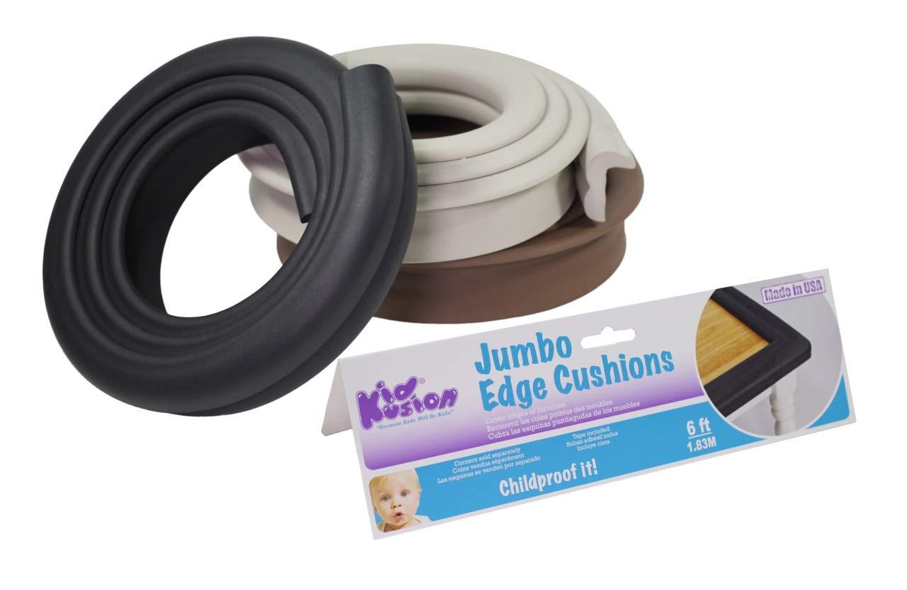 KidKusion Edge Kusions Indoor/Outdoor White